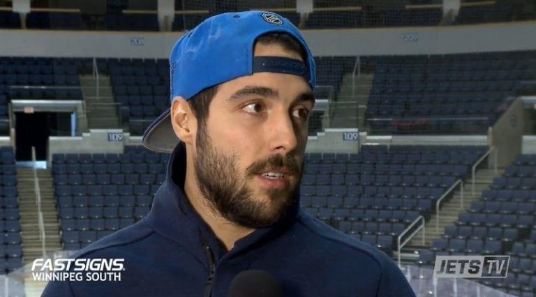 Seiska: Winnipeg Jetsin Mathieu Perreault törttöili Helsingin yössä