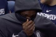 Video: NBA-pelaaja loukkaantui vakavasti – joukkuekaverit puhkesivat kyyneliin