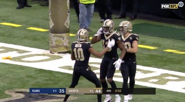 Video: NFL-pelaajalta erikoinen puhelin-tuuletus – sai 13 000 dollarin sakot