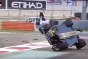 Video: Nico Hülkenberg ajoi karmealla tavalla ulos Abu Dhabissa