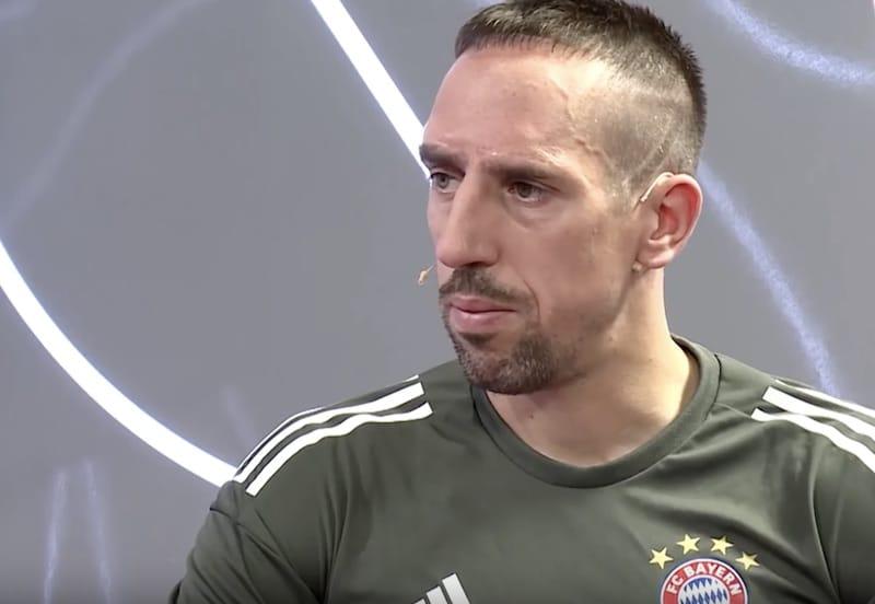 Bild: Franck Ribery löi toimittajaa tappiollisen Dortmund-pelin jälkeen