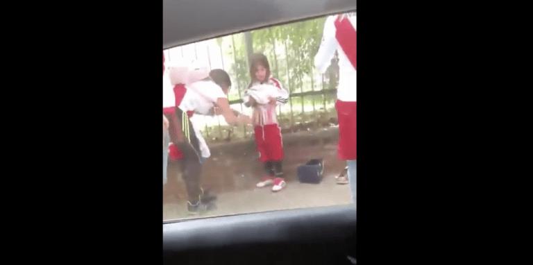 Video: Täysin sairasta! River Plate -fanit salakuljettavat soihtuja stadionille lasten avulla