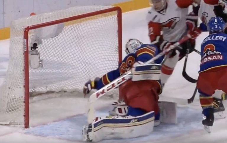 Video: Ryan Zapolskin haamutorjunta valittiin KHL-viikon komeimmaksi