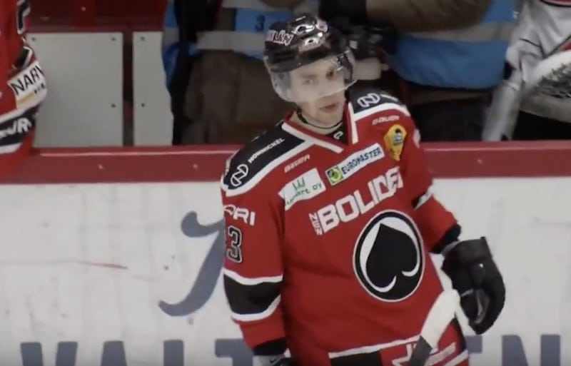 Video: Sakari Salminen veivasi hävyttömän maalin Lukkoa vastaan
