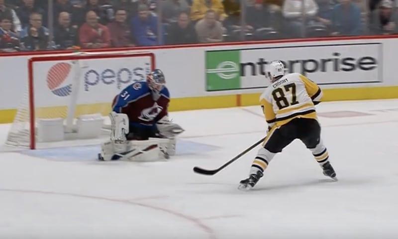 Video: Sidney Crosby teki hattutempun reilussa viidessä minuutissa