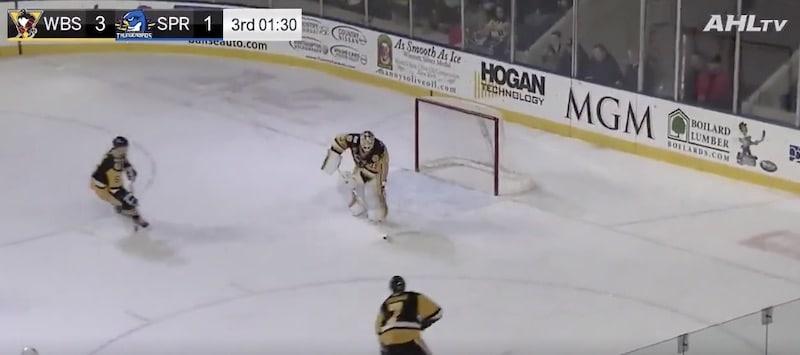 AHL Tristan Jarry / Pallomeri.net