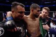 Video: UFC:ssä nähtiin hämmentävä nukutus kyynärpäällä