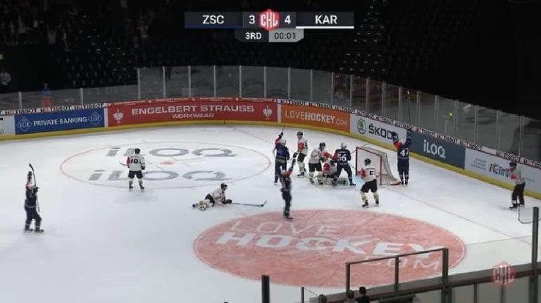 Video: Zürich Lions tasoitti viimeisellä sekunnilla Kärppiä vastaan