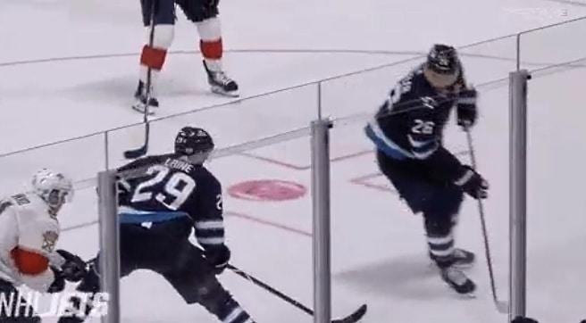 Video: Patrik Laine tinttasi mielettömän vedon Panthers-maaliin