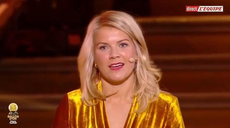 Video: Haastattelijalta todellinen huti – kysyi naisten Ballon d'Or -voittajalta, osaako tämä twerkata
