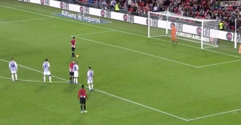 Video: Aritz Aduriz iski jäätävän ovelan rankkarimaalin La Ligassa
