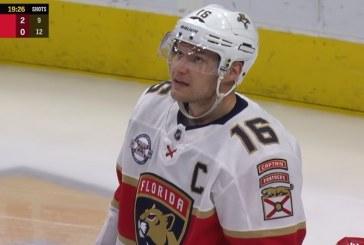 Video: Aleksander Barkov otti taas jäähyn – jo ensimmäinen tällä kaudella