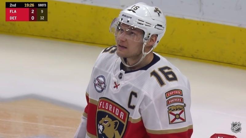 Video: Aleksander Barkov otti taas jäähyn - jo ensimmäinen tällä kaudella