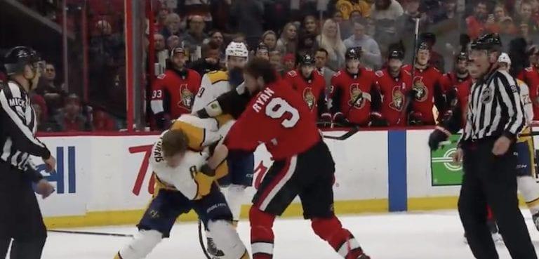 Video: Bobby Ryan ja Kyle Turris myllyttivät näyttävästi NHL:ssä