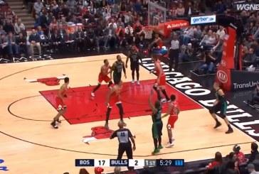 Video: Chicago Bulls otti pataan historiallisen suurinumeroisesti