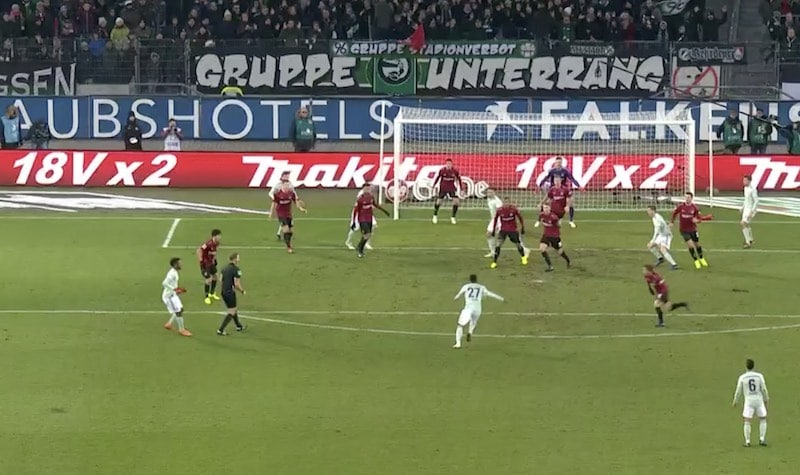 David Alaba Bayern München Bundesliiga / Pallomeri.net