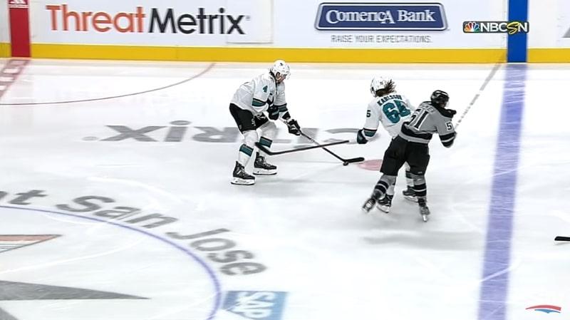 Video: Erik Karlssonin taklaus kuumensi tunteet - päähän kohdistunut vai ei?