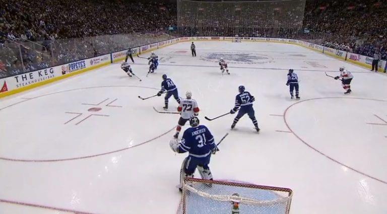 Video: Henrik Borgström viimeisteli NHL-kauden avausmaalinsa