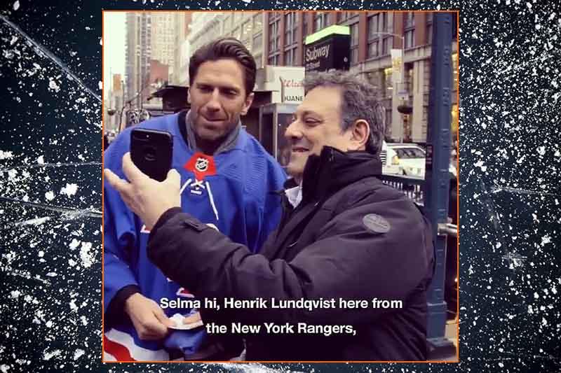 Video: Henrik Lundqvist ilahdutti New Yorkin asukkaita joulun kunniaksi