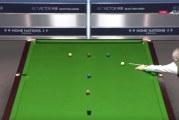 Video: John Higgins teki huikeasti maksimibreikin Scottish Openissa