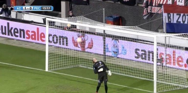 Video: Hollannin Cupissa epätodellinen tilanne – uskomaton kierre esti varman maalin