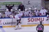 Video: Ketterän maalivahti Karolus Kaarlehto teki maalin Mestiksessä!