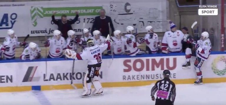 Hurja paukku! Mestis-joukkue kaatoi KHL:ssä pelaavan Dinamo Riikan