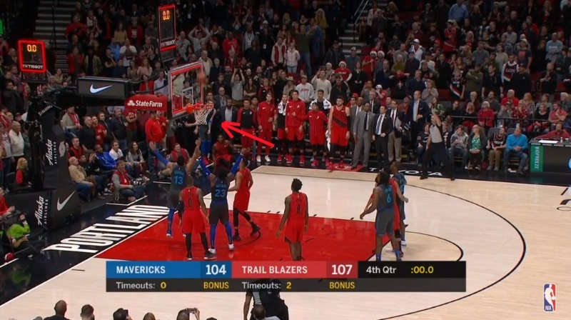 Video: NBA:ssa nähtiin uskomaton viimeisen sekunnin tasoituskori