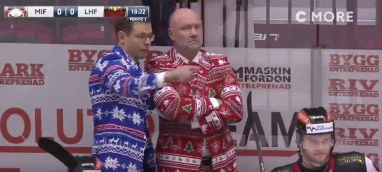 Video: Malmö-valmentajat pelasivat joulun läpi jo kolme päivää ennen aattoa