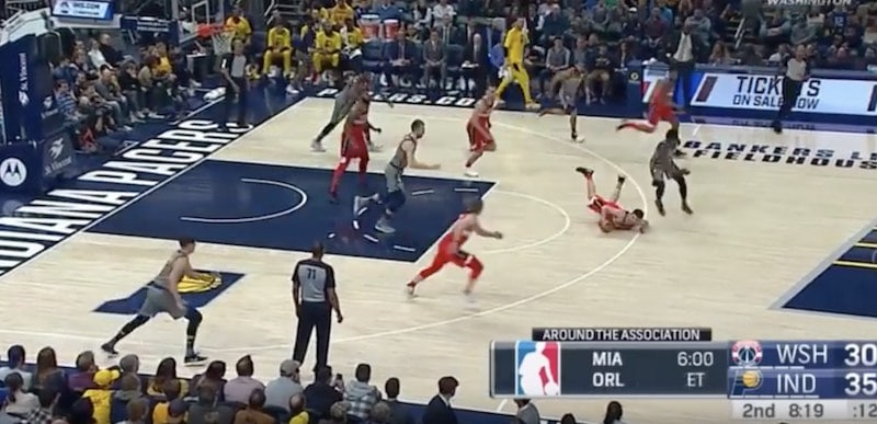 NBA Indiana Washington / Pallomeri.net