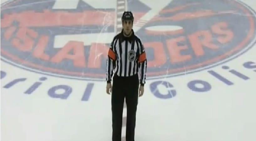 Klassikkovideo: NHL-tuomari kuulutti hylätyn maalin - äänenmurros iski