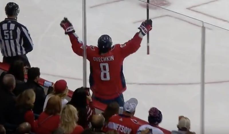 Video: Aleksandr Ovetshkin painoi hattutempun – johtaa selvästi NHL:n maalipörssiä