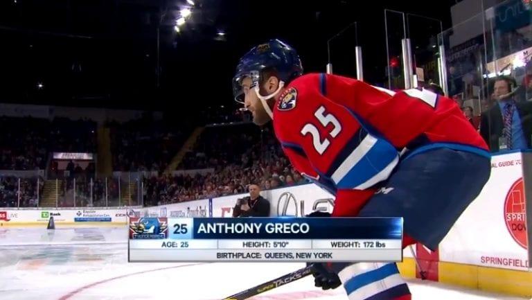 Video: AHL:n luistelukisassa nähtiin hurja aika – Anthony Greco nopeampi kuin Connor McDavid