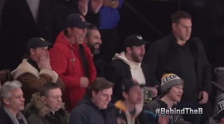 Video: Trent Frederic myllytti NHL-debyytissään – isä oli mikitettynä katsomossa