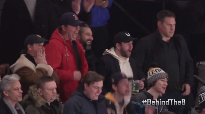 Video: Trent Frederic myllytti NHL-debyytissään - isä oli mikitettynä katsomossa