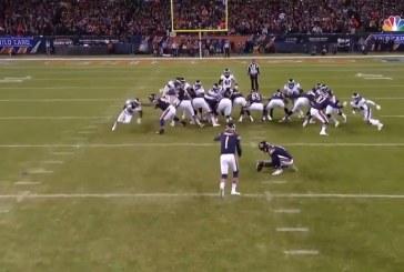 Video: NFL:n pudotuspeleissä täysin uskomatonta draamaa – viime sekuntien potkumaali kahden tolpan kautta ulos