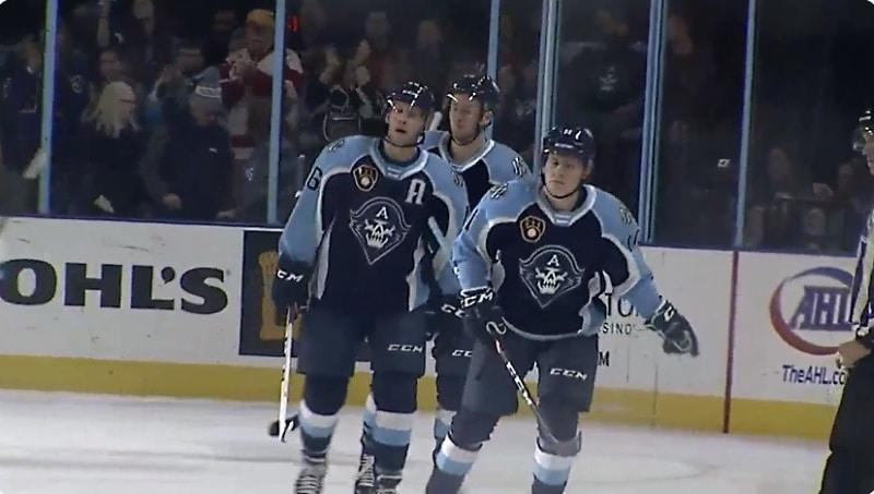 Video: Eeli Tolvanen viimeisteli upean osuman AHL:ssä - osui myös toisen kerran