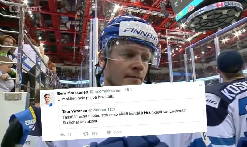 Klassikkojuttu: Eero Markkanen piikitteli Leijonia – Petri Kontiolalta jäätävä kuitti takaisin