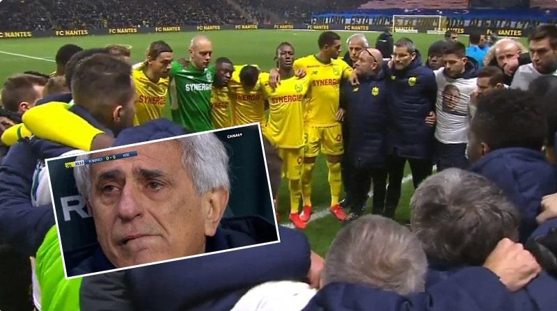 Video: Emiliano Salaa kunnioitettiin Nantesissa liikuttavalla tavalla - ottelu keskeytettiin 9. minuutilla