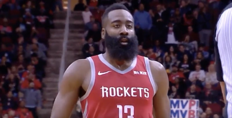 James Harden Houston NBA / Pallomeri.net