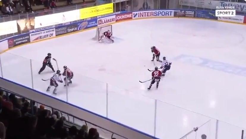 Video: Jokipoikien Lassi Raitanen sai 8 ottelun pelikiellon älyttömästä taklauksesta