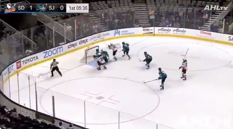 Video: Max Jones taiteili häikäisevän osuman AHL:ssä