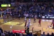 Video: NCAA-matsissa nähtiin uskomaton viimeisen sekunnin voittokori