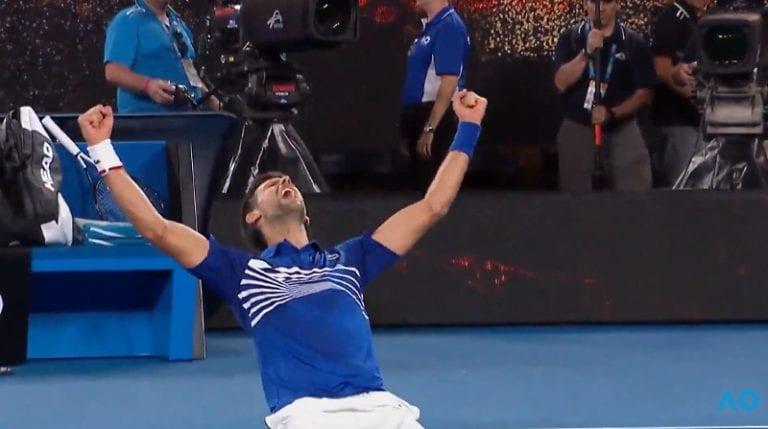 Video: Novak Djokovic jyräsi Rafael Nadalin Australian Openin finaalissa