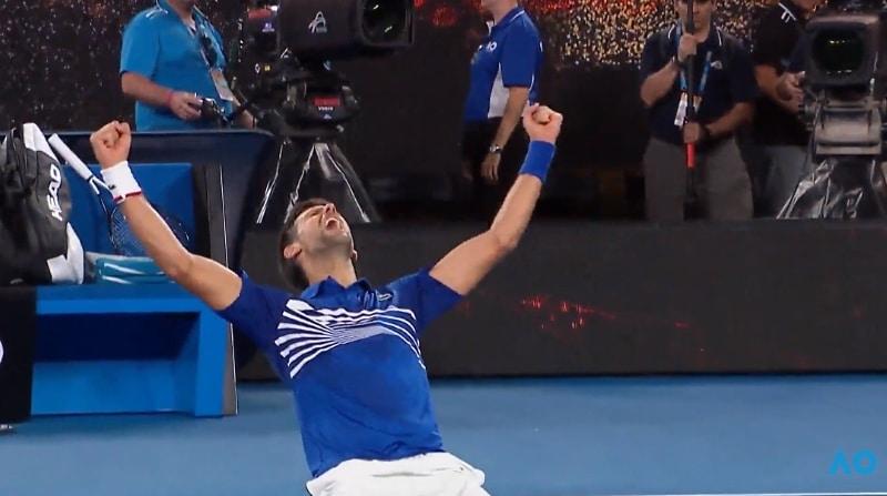 Novak Djokovic Australian Open 2019 voittaja - pallomeri.net