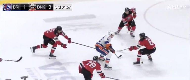 Video: 20-vuotias Otto Koivula sooloili täysin älyttömän maalin AHL:ssä