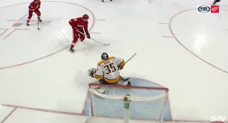 Video: MUURI! – Pekka Rinne torjui kolmella nollaa vastaan hyökkäyksen