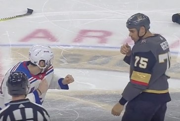 Video: NHL:ssä nähtiin todellinen raskaan sarjan tappelu – Ryan Reaves antoi hurjaa kyytiä