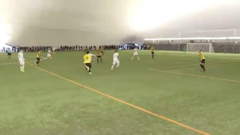 Video: Suomen Cupissa uskomaton kaukolaukausmaali– FC Lahti -peluri pamautti pallon aivan ylänurkkaan