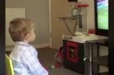 Video: Pikkupojalta sydämet sulattava tuuletus suosikkijoukkueensa maaliin